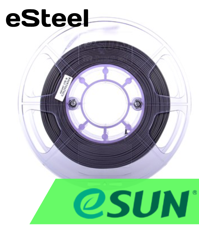 ESun eSteel 1.75mm 0.5kg Spool - Digitmakers.ca providing 3d printers, 3d scanners, 3d filaments, 3d printing material , 3d resin , 3d parts , 3d printing services