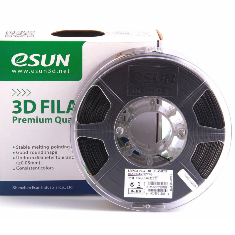 ESun PLA+ Filament 1.75mm 1kg-25 Colors Available