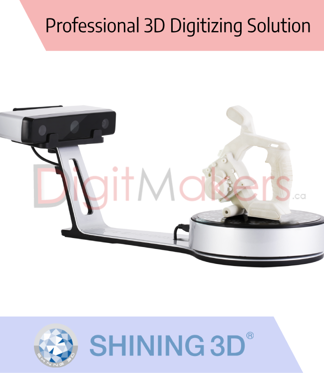 EinScan-SP 3D Scanner - Digitmakers.ca