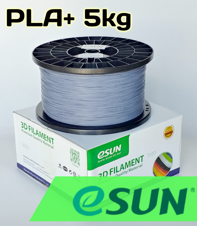 ESun PLA+ Black/White/Grey 1.75 mm 5kg Spool