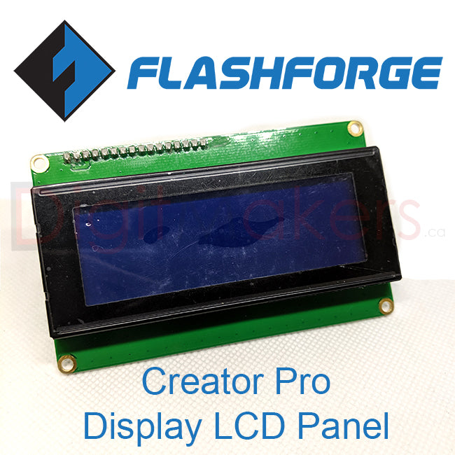 Creator Pro Display LCD Panel - Digitmakers.ca providing 3d printers, 3d scanners, 3d filaments, 3d printing material , 3d resin , 3d parts , 3d printing services