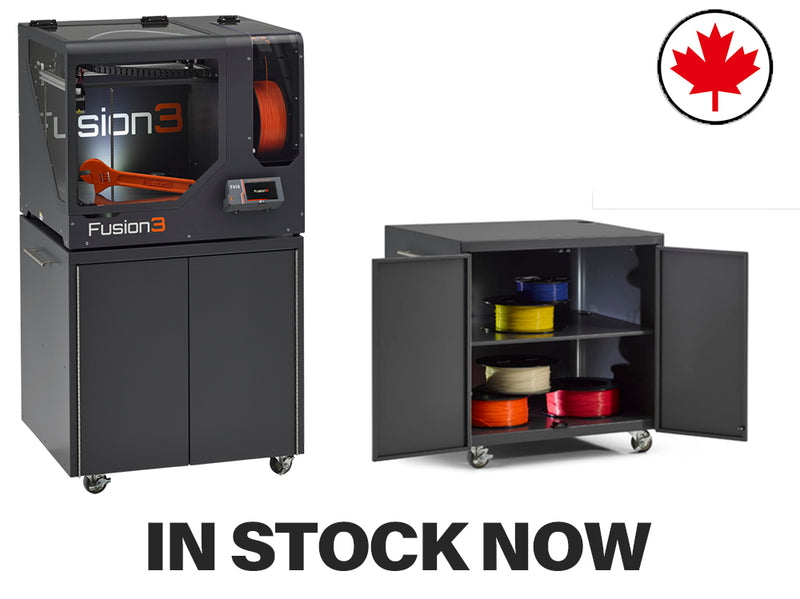 Fusion3 F410 3D Printer - Digitmakers.ca providing 3d printers, 3d scanners, 3d filaments, 3d printing material , 3d resin , 3d parts , 3d printing services