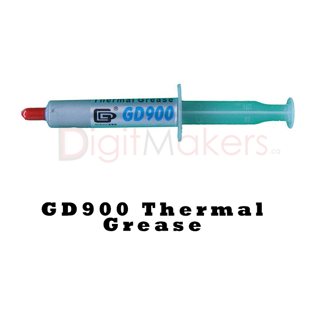 GD900 Thermal Grease Paste - Digitmakers.ca providing 3d printers, 3d scanners, 3d filaments, 3d printing material , 3d resin , 3d parts , 3d printing services