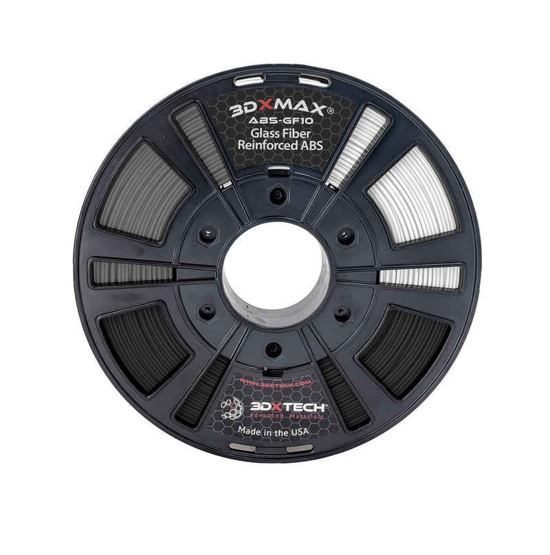 3DXMAX GF-10 ABS Filament - Black various sizes - Digitmakers.ca