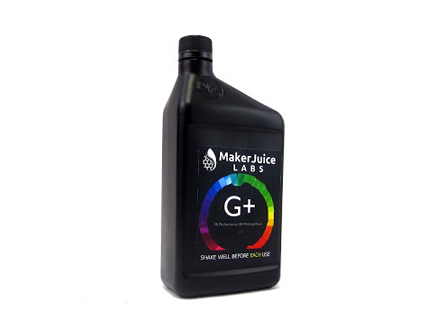 G+ MakerJuice 3D Printer Resin - 1 Liter