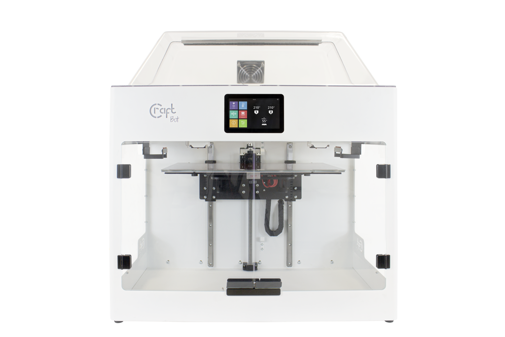 Craftbot Flow Generation IDEX 3D Printer - Digitmakers.ca
