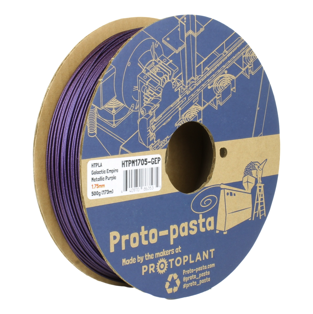 ProtoPasta Galactic Empire Metallic Purple HTPLA 1.75mm 500g