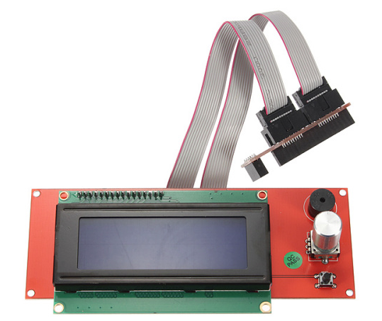 3D PRINTER 2004 LCD SMART CONTROLLER DISPLAY - Digitmakers.ca providing 3d printers, 3d scanners, 3d filaments, 3d printing material , 3d resin , 3d parts , 3d printing services