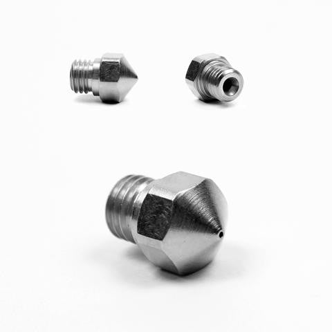 Micro Swiss nozzle for MK10 All Metal Hotend Variable Diameter - Digitmakers.ca providing 3d printers, 3d scanners, 3d filaments, 3d printing material , 3d resin , 3d parts , 3d printing services