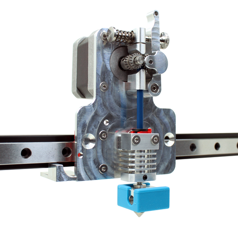 Micro Swiss Direct Drive Extruder for Linear Rail System (With Hotend)