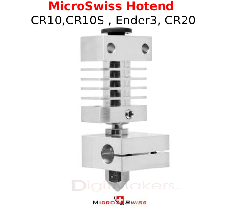All Metal Hotend Kit for Creality CR-10 / CR10S / CR20 / Ender 2, 3, 5 Printers - Digitmakers.ca providing 3d printers, 3d scanners, 3d filaments, 3d printing material , 3d resin , 3d parts , 3d printing services