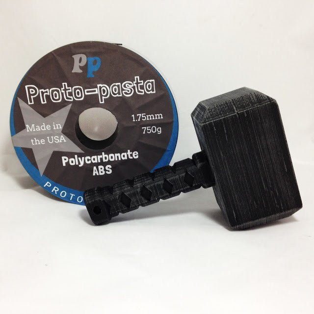 High Temperature Polycarbonate-ABS Alloy Black 2.85 mm - Digitmakers.ca providing 3d printers, 3d scanners, 3d filaments, 3d printing material , 3d resin , 3d parts , 3d printing services