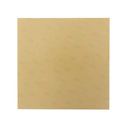 PEI (Polyetherimide) Sheet - with 3M Adhesive sheet various Sizes (0.15 Thickness)