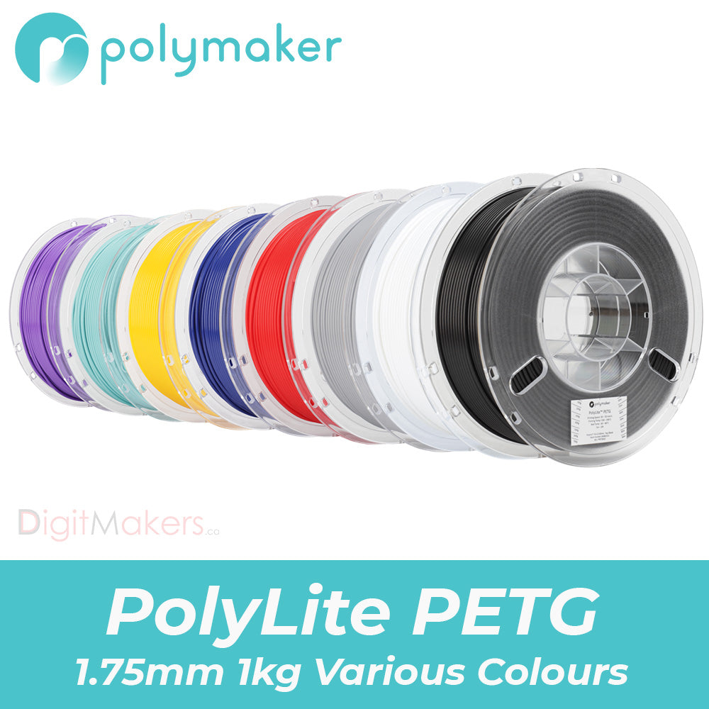 PolyLite™ PETG Various Colors (1.75mm 1000g)