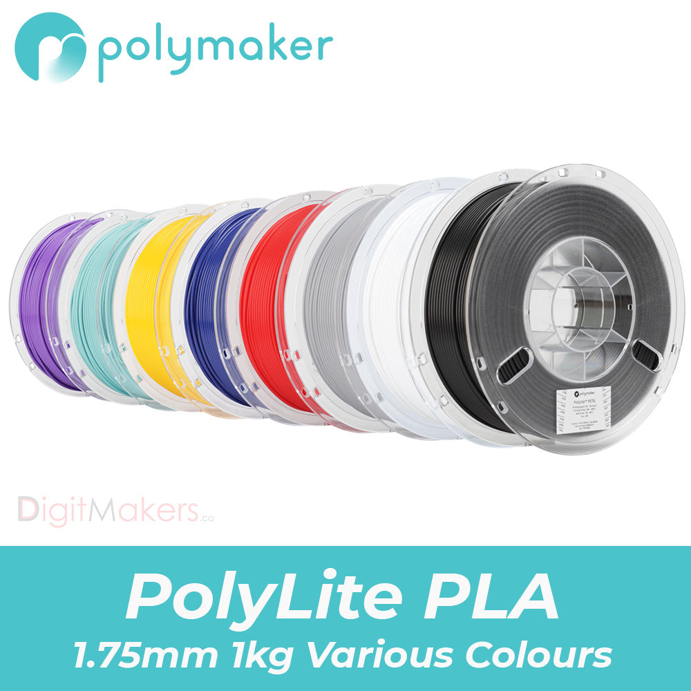 PolyLite™ PLA (1.75mm 1000g) - Various Colours