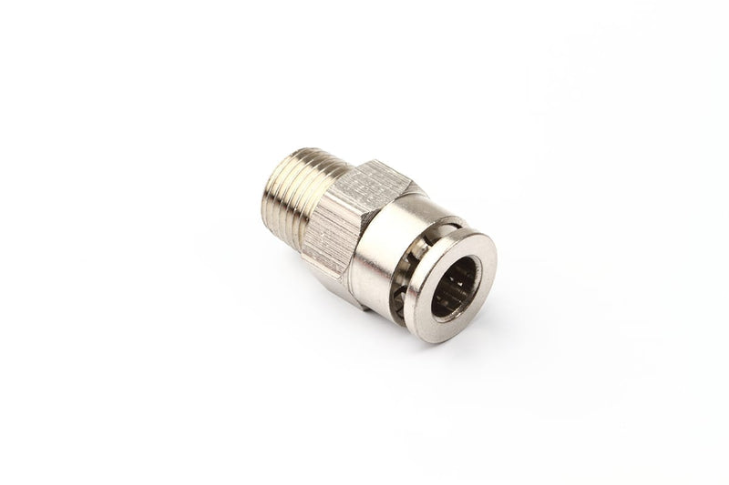 Heavy-duty metal push-fit connector - Digitmakers.ca providing 3d printers, 3d scanners, 3d filaments, 3d printing material , 3d resin , 3d parts , 3d printing services