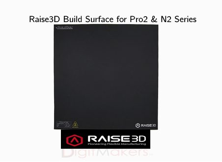 Raise3D Printing Build Surface - Digitmakers.ca providing 3d printers, 3d scanners, 3d filaments, 3d printing material , 3d resin , 3d parts , 3d printing services