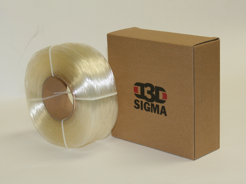 D3D Sigma PETG 1kg Spooless Refill Various Colors Various Sizes