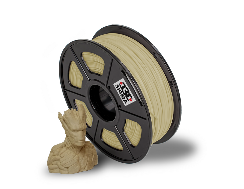 D3D Sigma Wood PLA 1.75mm 1kg Spool