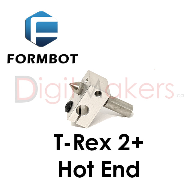 Formbot T-Rex 2+ Replacement Hot End Various Sizes - Digitmakers.ca providing 3d printers, 3d scanners, 3d filaments, 3d printing material , 3d resin , 3d parts , 3d printing services