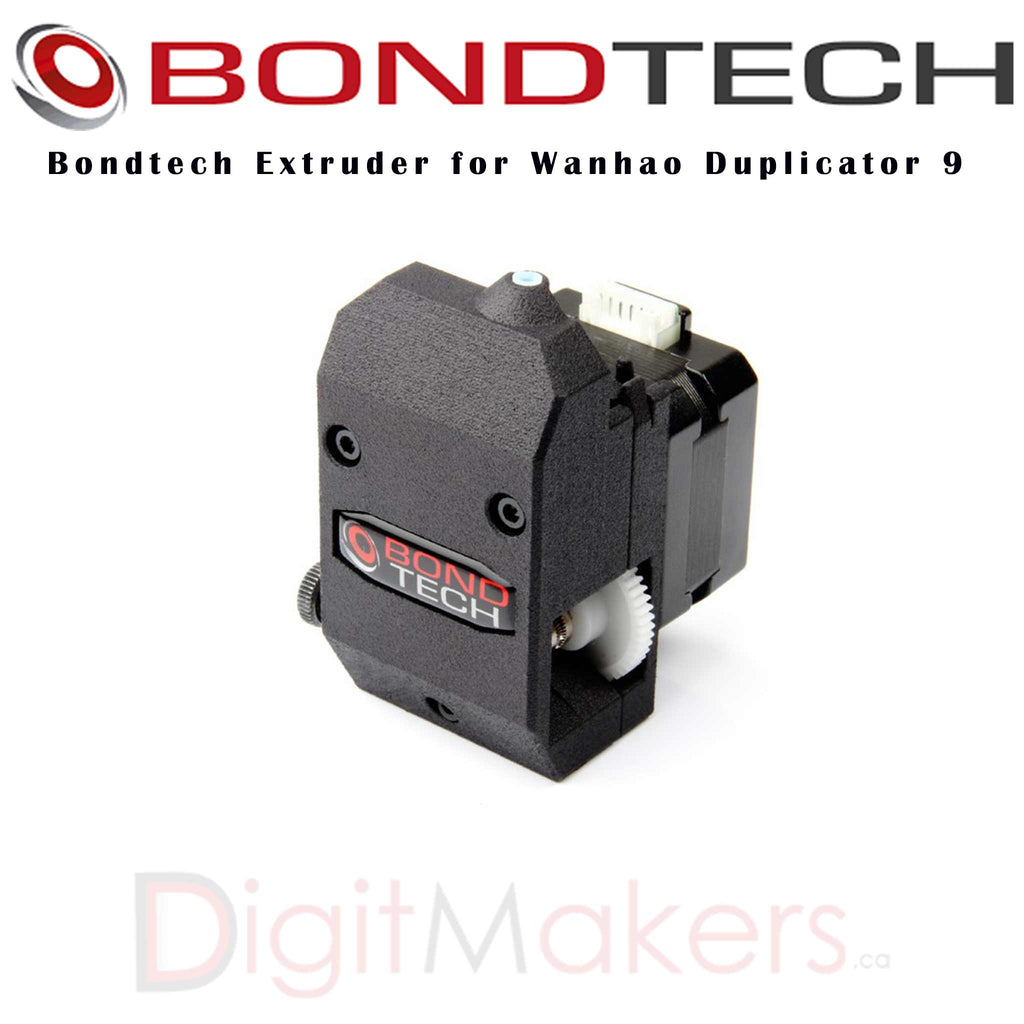 Bondtech Extruder for Wanhao Duplicator 9 - Digitmakers.ca providing 3d printers, 3d scanners, 3d filaments, 3d printing material , 3d resin , 3d parts , 3d printing services