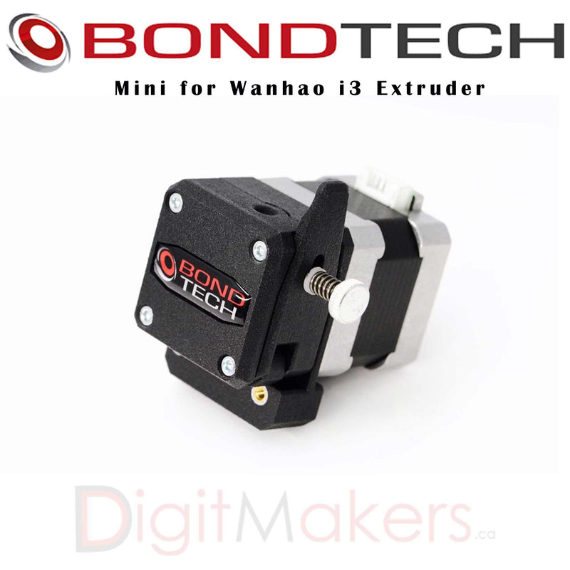 Bondtech Mini for Wanhao i3 Extruder - Digitmakers.ca providing 3d printers, 3d scanners, 3d filaments, 3d printing material , 3d resin , 3d parts , 3d printing services