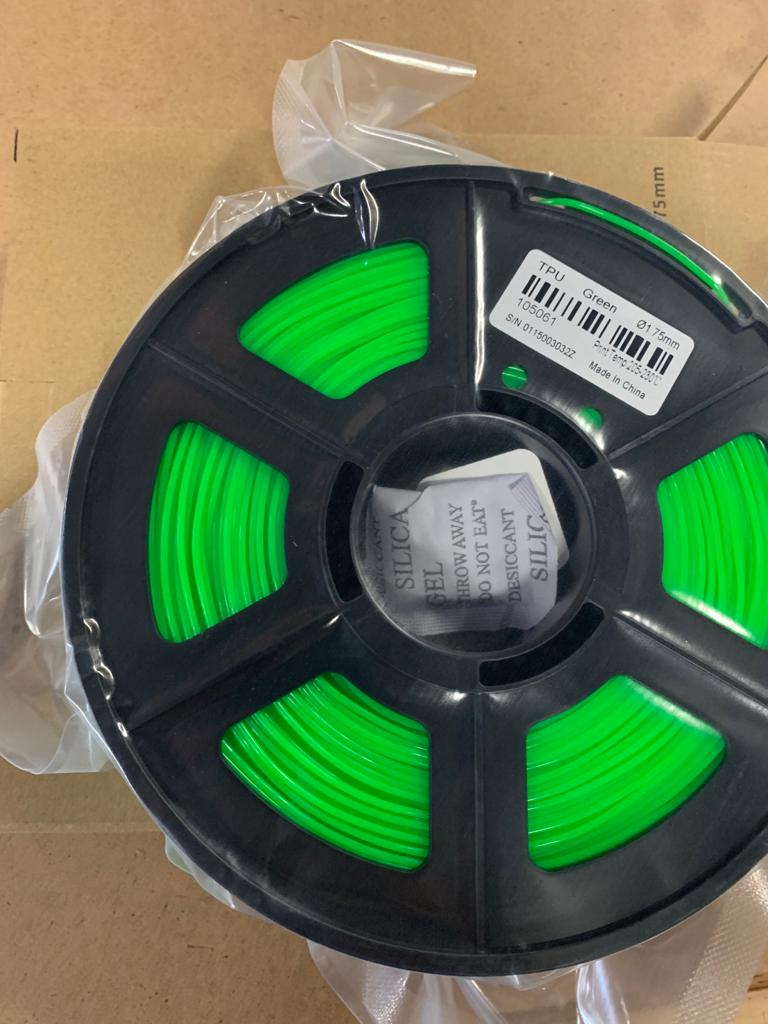 D3D Sigma TPU Flexible Filament 1.75mm-500g Spool (5 Colors)