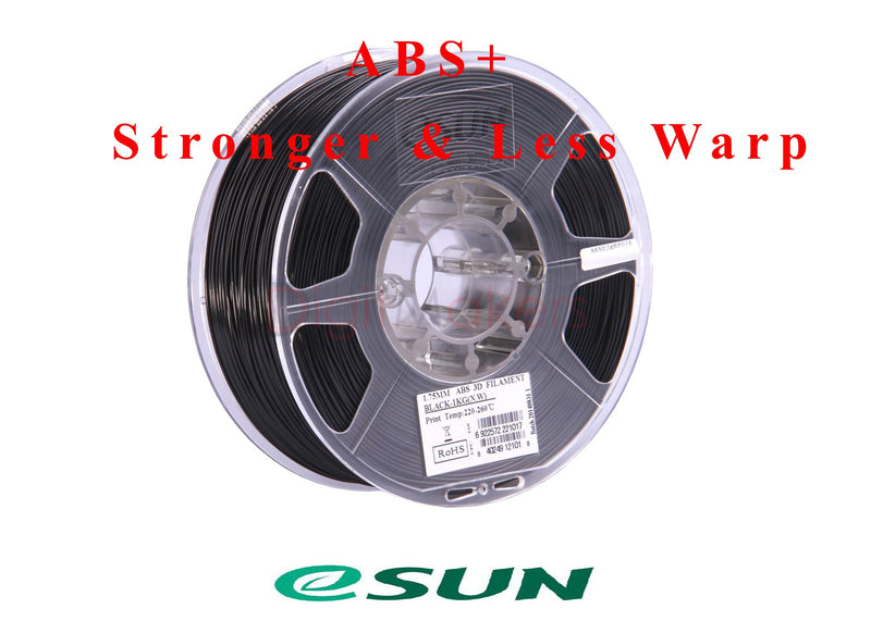 ESun ABS+ Filament 2.85 mm 1kg Spool Various Colors - Digitmakers.ca