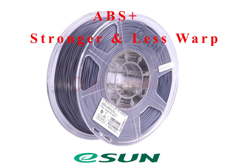 ESun ABS+ Filament 2.85 mm 1kg Spool Various Colors - Digitmakers.ca providing 3d printers, 3d scanners, 3d filaments, 3d printing material , 3d resin , 3d parts , 3d printing services