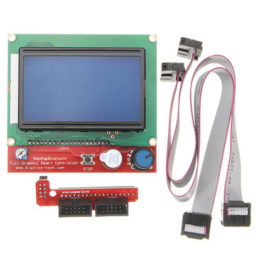 3D PRINTER 12864 LCD SMART CONTROLLER DISPLAY - Digitmakers.ca providing 3d printers, 3d scanners, 3d filaments, 3d printing material , 3d resin , 3d parts , 3d printing services