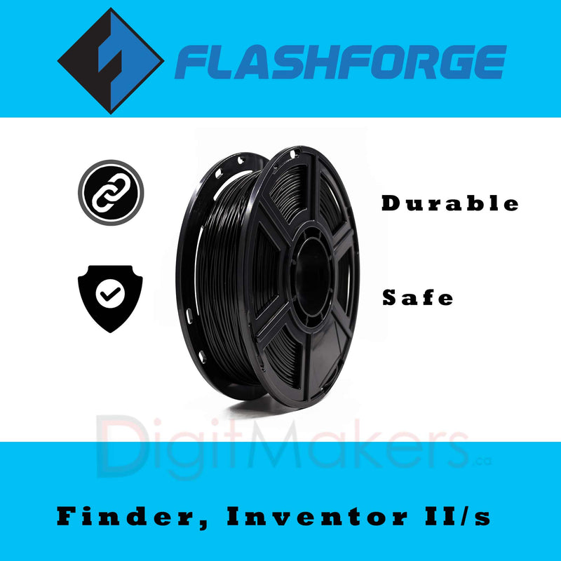 Flashforge Dreamer-Finder-Inventor II PLA Filament,1.75mm, 0.5kg - Digitmakers.ca providing 3d printers, 3d scanners, 3d filaments, 3d printing material , 3d resin , 3d parts , 3d printing services