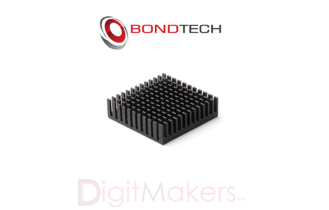 Bondtech Heatsink - Digitmakers.ca providing 3d printers, 3d scanners, 3d filaments, 3d printing material , 3d resin , 3d parts , 3d printing services