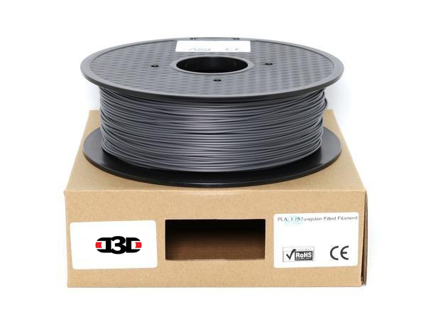 D3D Tungsten Filled - 1.75mm PLA Filament - 1 kg - Digitmakers.ca providing 3d printers, 3d scanners, 3d filaments, 3d printing material , 3d resin , 3d parts , 3d printing services