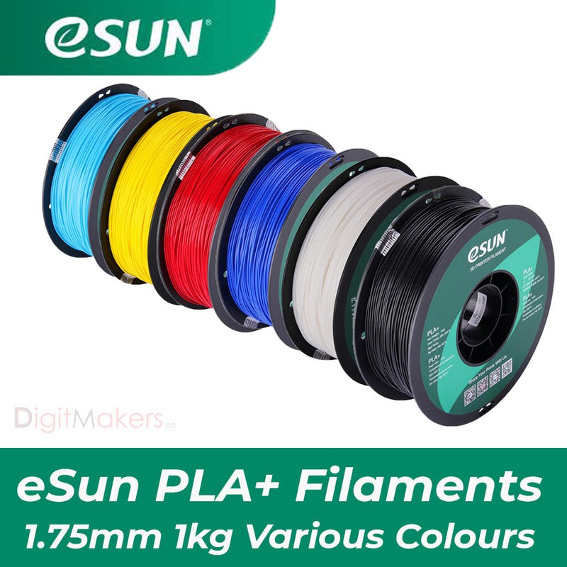 ESun PLA+ Filament 1.75mm 1kg-27 Colors Available