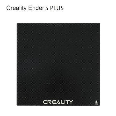 Creality Ender 5 Plus Tempered Glass Carbon and Silicone Bed