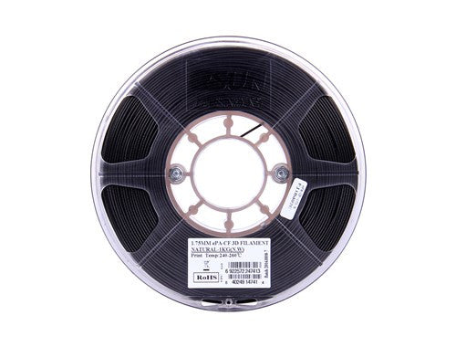 ESun ePA CF Natural Black - Carbon fiber Reinforced Nylon 1.75mm 1kg Spool - Digitmakers.ca