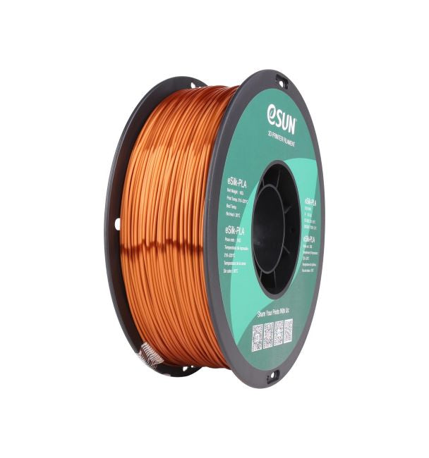 eSun eSilk PLA Filament 1.75mm 1kg Spool Various Colors - Digitmakers.ca providing 3d printers, 3d scanners, 3d filaments, 3d printing material , 3d resin , 3d parts , 3d printing services