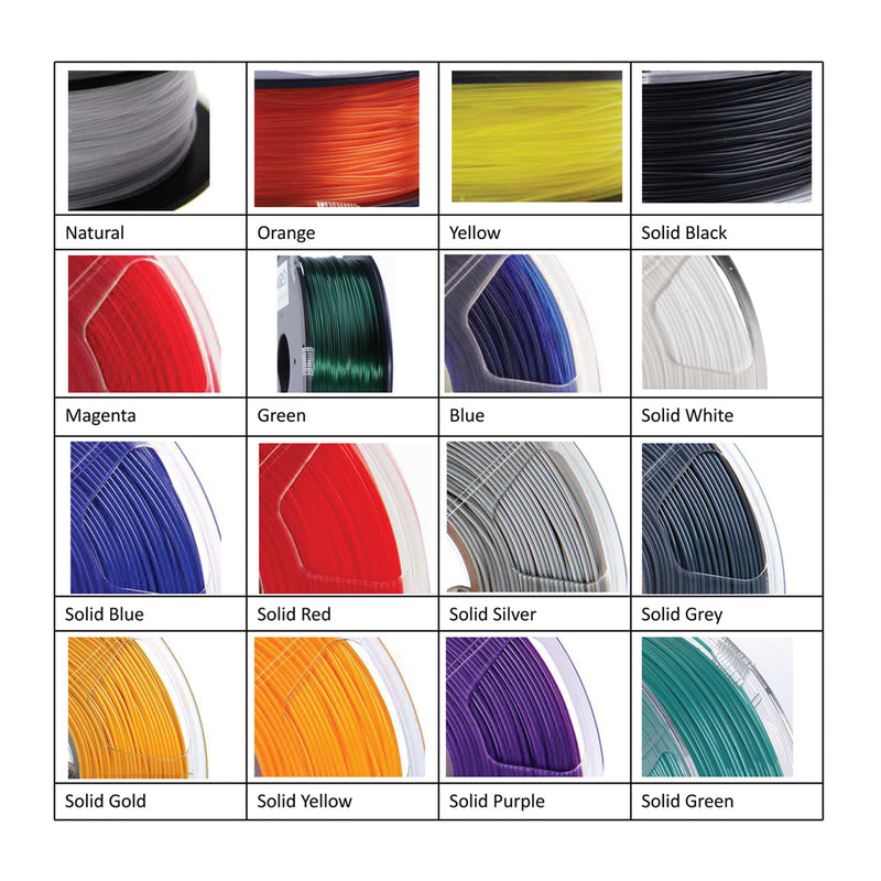 ESun PETG Filament 1.75 mm 1kg Spool Various Colors - Digitmakers.ca providing 3d printers, 3d scanners, 3d filaments, 3d printing material , 3d resin , 3d parts , 3d printing services