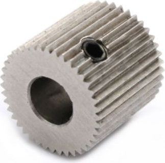 Stainless Steel Extruder Drive Gear 5mm Shaft 40 teeth - Digitmakers.ca providing 3d printers, 3d scanners, 3d filaments, 3d printing material , 3d resin , 3d parts , 3d printing services