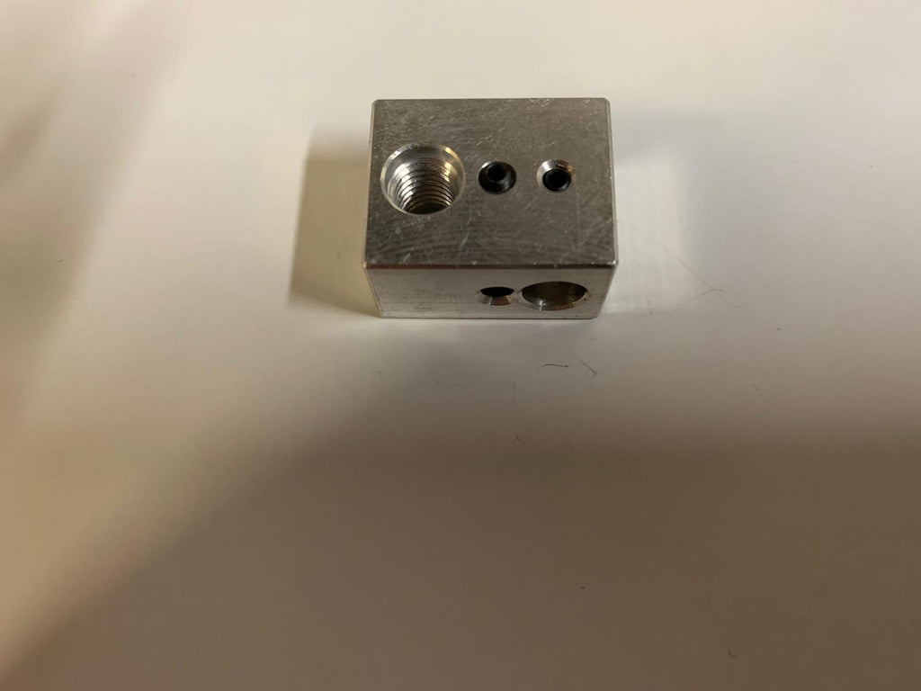 Heater Block for Wanhao Duplicator D9 - Digitmakers.ca providing 3d printers, 3d scanners, 3d filaments, 3d printing material , 3d resin , 3d parts , 3d printing services