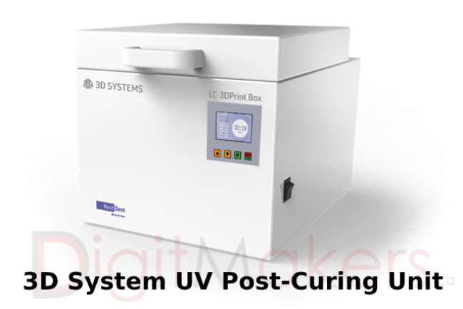 3D Systems LC-3DPrint Box UV Post-Curing Unit - Digitmakers.ca providing 3d printers, 3d scanners, 3d filaments, 3d printing material , 3d resin , 3d parts , 3d printing services