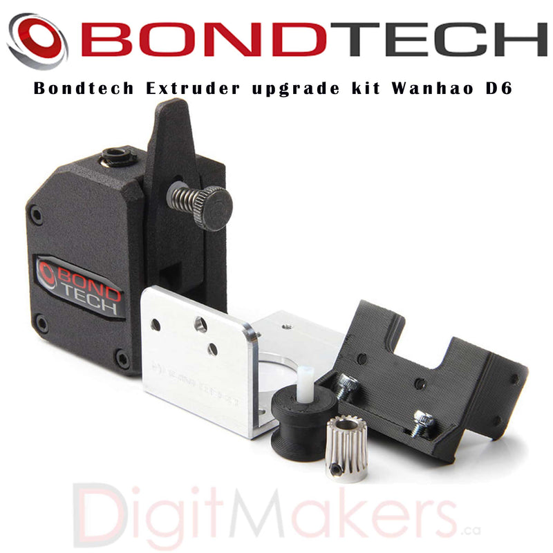 Bondtech Extruder upgrade kit Wanhao D6 - Digitmakers.ca providing 3d printers, 3d scanners, 3d filaments, 3d printing material , 3d resin , 3d parts , 3d printing services