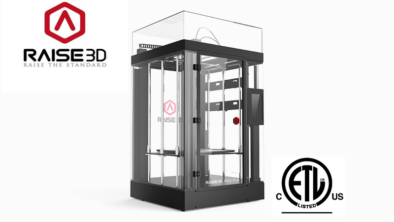 Raise3D Pro2 Plus 3D Printer - Digitmakers.ca providing 3d printers, 3d scanners, 3d filaments, 3d printing material , 3d resin , 3d parts , 3d printing services