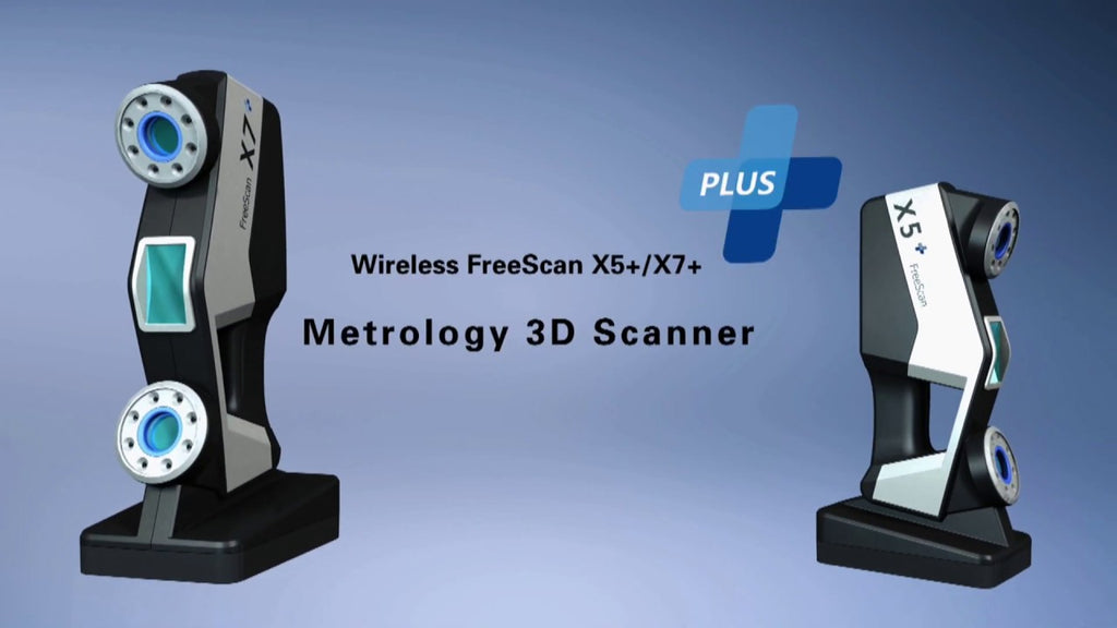 WIRELESS FREESCAN X5+/X7+ METROLOGY 3D SCANNER - Digitmakers.ca providing 3d printers, 3d scanners, 3d filaments, 3d printing material , 3d resin , 3d parts , 3d printing services
