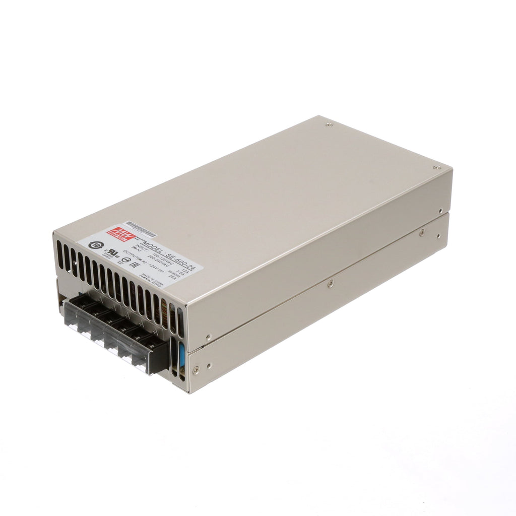 MeanWell SE-600-24V Power Supply - Digitmakers.ca providing 3d printers, 3d scanners, 3d filaments, 3d printing material , 3d resin , 3d parts , 3d printing services