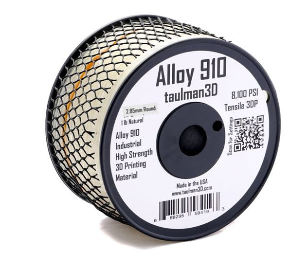 Taulman Alloy 910-Clear- 2.85mm - Digitmakers.ca providing 3d printers, 3d scanners, 3d filaments, 3d printing material , 3d resin , 3d parts , 3d printing services