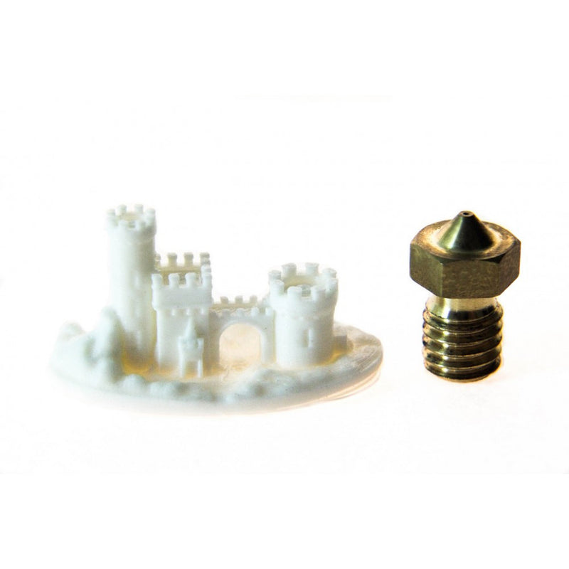 Genuine E3D Experimental High-Resolution V6 -0.15 Nozzle 1.75mm - Digitmakers.ca providing 3d printers, 3d scanners, 3d filaments, 3d printing material , 3d resin , 3d parts , 3d printing services