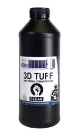 Monocure 3D Rapid TUFF Resin - 1L clear- Digitmakers.ca providing 3d printers, 3d scanners, 3d filaments, 3d printing material , 3d resin , 3d parts , 3d printing services