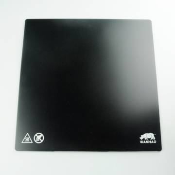 Wanhao D9 Carbon Crystal Glass Plate with Mag Mat