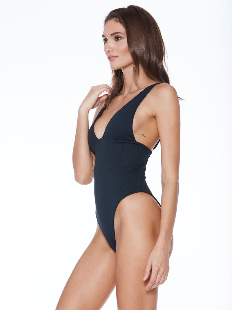 Shop the Banned One Piece from Mary Grace Swim at Crispy Citron. Free shipping and easy returns